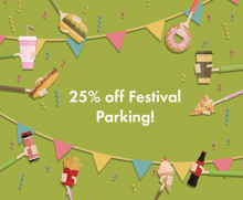 25% Off Parking for Manchester Food & Drink Festival