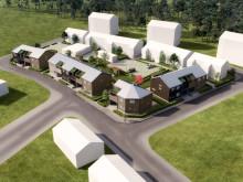 Ett hållbart OBOS-kvarter växer fram utanför Växjö