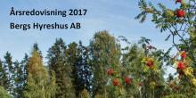 Årsredovisning och resultat 2017