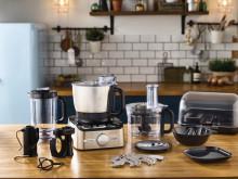 En kompakt kompis i köket – kFLEX är tre köksmaskiner i en