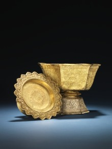 ​Rare Golden Bowls from the King of Siam up for Auction