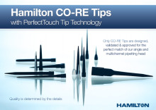 Hamilton CO-RE Tips with PerfectTouch