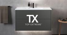 INR lanseeraa TX Top Extreme ™ -pintakäsittelyn: Kylpyhuonekalusteiden tulisi kestää koko sukupolven ajan!