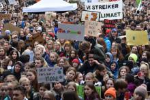 Teknisk museum samler inn materiale fra skolestreiken for klima