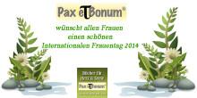 Der Pax et Bonum Verlag wünscht allen Frauen einen schönen Internationalen Frauentag 2014