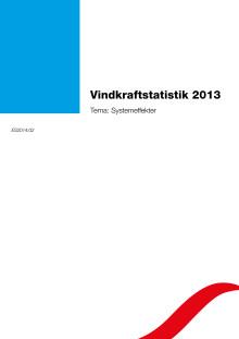 Vindkraftstatistik 2013