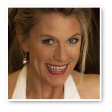 Christina Nilsson känd från TV-programmet Skånefruar blekte tänderna