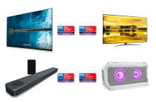 LG:s senaste innovationer inom TV och ljud tar hem flera  utmärkelser under årets EISA Awards