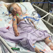 We knew Abby would need lifesaving surgery, but we didn't know The Sick Children's Trust would be there to support us