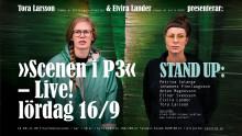 """Tora och Elvira från """"Humor är kul"""" gästar pressträff på Väven"""