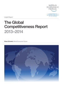 The Global Competitiveness Report 2013 - 2014
