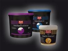 Tre nya spackel i Casco Wall-konceptet