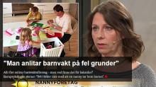 Svar på inslag om barnvaktsbranschen på TV4-Nyhetsmorgon!