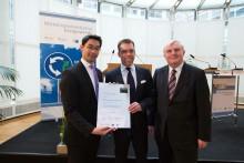 Förbundsministrar tilldelar Weidmüller utmärkelse som exemplariska förespråkare för klimatskydd