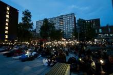 Gratis friluftskino på Kringsjå studentby