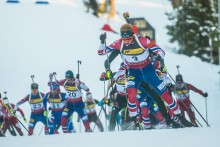 Disse går 20 km og stafett i Ruhpolding