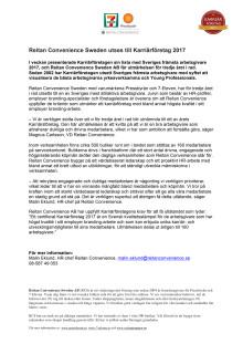 Reitan Convenience Sweden utses till Karriärföretag 2017