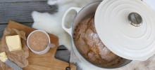 Oppskrift: Grytebrød med rosmarin og havsalt