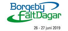 Arom-dekor Kemi stället ut på Borgenby Fältdagar 26-27 juni 2019.