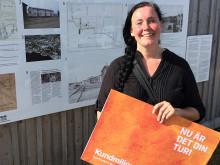 Elin ger sin del av Kundmiljonen till Piteå Båtmuseum