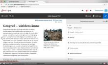 Studiestöd på arabiska i Gleerups digitala läromedel –stöd till nyanlända elever
