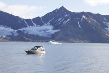 En smekmånad bland glaciärer och isbjörnar