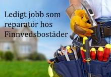 Reparatör sökes till Finnvedsbostäder