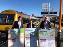 Boost for Birmingham rail users as first passenger train in 80 years runs on Camp Hill line