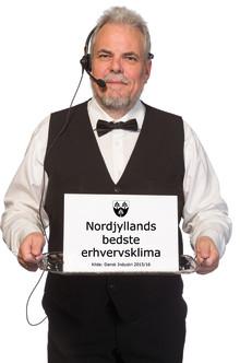 Rebild Kommune har ifølge DI det bedste erhvervsklima i Nordjylland. Igen.