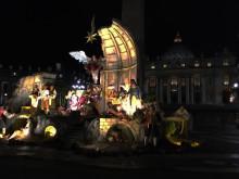 La Messa della Notte di Natale live via satellite in Ultra HD. Un'iniziativa della Segreteria per la Comunicazione del Vaticano in collaborazione con Rai, Eutelsat, Globecast e Sony