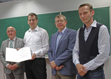 """Neuer Honorarprofessor für """"Geschäftsprozess- und Fabrikmanagement"""" am Fachbereich Ingenieur- und Naturwissenschaften (INW)"""