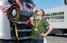 Scania Driver Competitions: Norweger Andreas Nordsjø gewinnt Scania Lkw