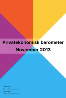 Privatekonomisk barometer november 2013