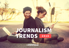 What journalists value most & foresee - Journalism Trends 2016