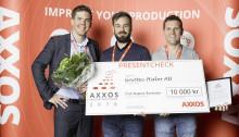 Gnotec Habo vinner AXXOS Produktivitetspris 2016