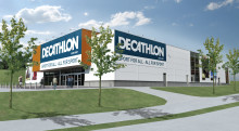 Decathlon bygger butik i Barkarby handelsområde