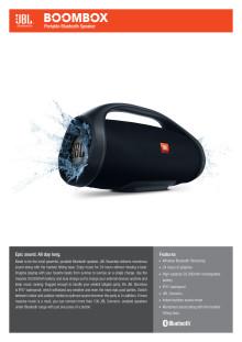 JBL Boombox SpecSheet