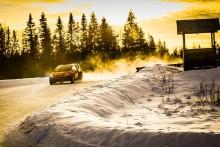 Unga stjärnskott laddar för het premiär i RallyX On Ice