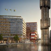 Miljöprofilerat kontor i Stockholms hjärta