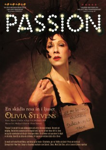 """Olivia Stevens i Stockholmspremiär med """"Passion"""" på Orionteatern"""