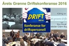 Årets grønne driftskonferanse 2016 ble avholdt 24. november - opptakene ligger klare på byggalliansen.no
