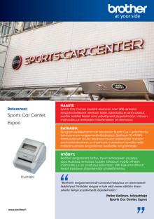 Lataa referenssicase: Sports Car Center Espoo tehosti rengashotellipalveluaan Brotherin monipuolisella rengastarraratkaisulla