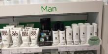 IDUN Minerals tar plats bland andra produkter för män