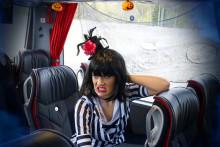 Swebus gör spökbuss med Partykungen inför halloween