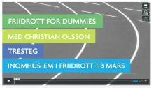 Friidrott för nybörjare med Christian Olsson