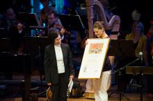 Kronprinsessan överlämnar ALMA-priset