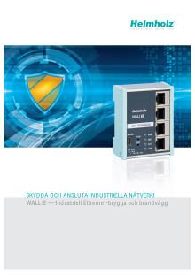 WALL IE — Industriell Ethernet-brygga och brandvägg
