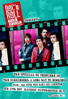 "The Parkinsons: UK Film Premiere of  ""A Long Way To Nowhere"" - Record  Release Party"