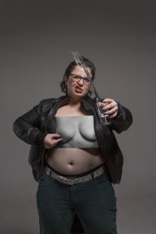 Pressvisning av utställningen Bröst – fotografier av Elisabeth Ohlson Wallin