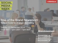 Online event: Rise of the Brand Newsroom